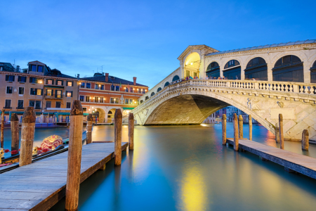 Picture no: 10941125 Rialtobrücke in Venedig Created by: Mapics