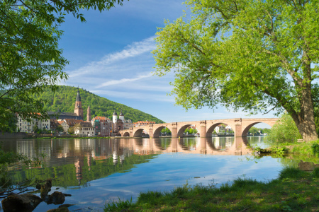 Picture no: 10946897 Heidelberg im Frühling Fine Art Created by: eyetronic