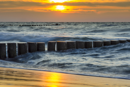 Picture no: 10951023 Sunset in Zingst Created by: Armin Redöhl