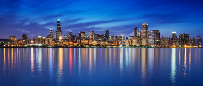 Picture no: 10960579 Chicago - Skyline Panorama Created by: ph4n7oM