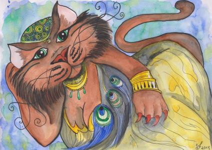 Picture no: 10964579 Cleopatra the cat Created by: Cindy Friedrich