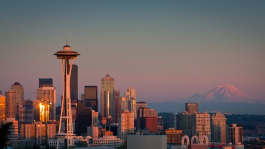 Picture no: 10971544 Seattle Skyline at Sunset Created by: TomKli