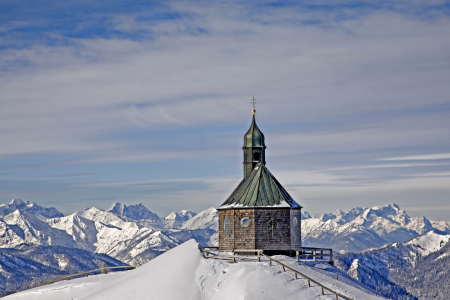 Picture no: 10989440 Wallbergkapelle im Winter Created by: EderHans