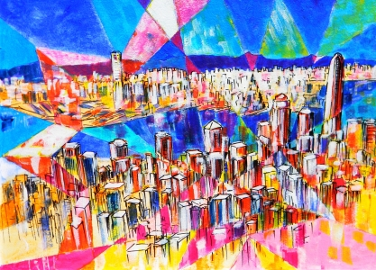 Picture no: 10991014 HongKong Skyline 1 Created by: holznerart
