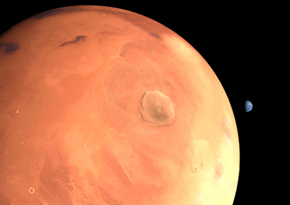 Picture no: 11025289 Planet Mars Erde Created by: Werner Bethke