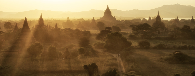 Picture no: 11028521 Pagodenlandschaft von Bagan, Myanmar Created by: danielgiesenphotography