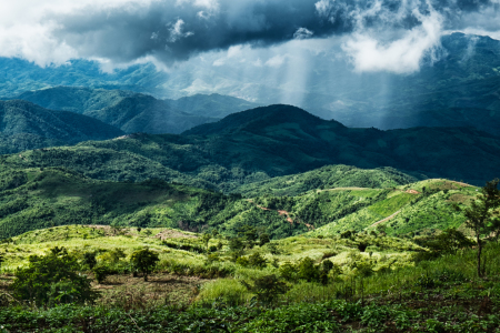 Picture no: 11038997 Gebirgslandschaft in Myanmar Created by: danielgiesenphotography