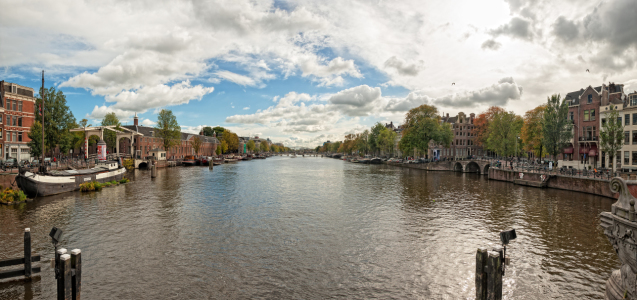 Picture no: 11063029 Amsterdam Panorama Created by: Nordbilder