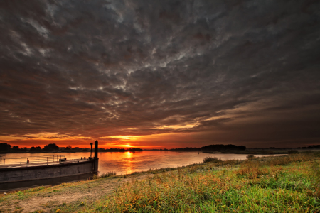 Picture no: 11065797 Bleckede sunrise II Created by: PhotoArt-Hartmann