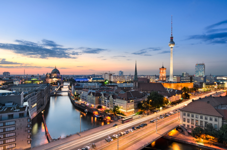 Picture no: 11077351 Berlin Skyline Created by: Mapics
