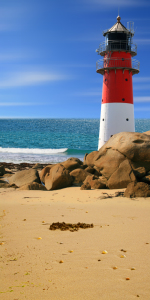 Picture no: 11077877 Strand Leuchtturm und Meer  Created by: Mausopardia