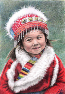 Picture no: 11104989 Tibetan Girl Created by: NicoleZeug