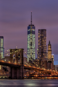 Picture no: 11122320 Brooklyn Bridge at Night Created by: TomKli