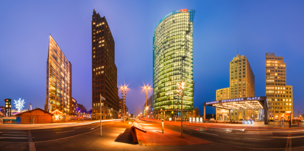 Picture no: 11130102 Berlin Potsdamer Platz Panorama Created by: Jean Claude Castor