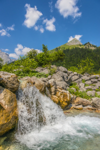 Picture no: 11160522 Alpen Wasserfall Created by: Wolfgang Zwanzger