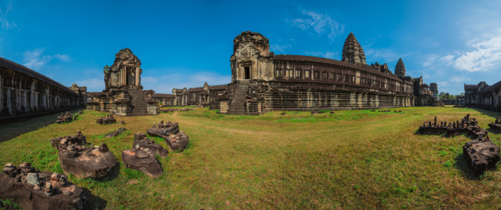 Picture no: 11170468 Kambodscha - Angkor Wat Panorama Created by: Jean Claude Castor