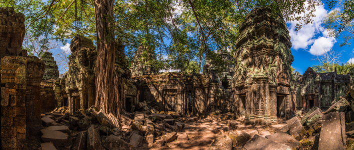 Picture no: 11175038 Kambodscha - Ta Prohm Tempel Panorama Created by: Jean Claude Castor
