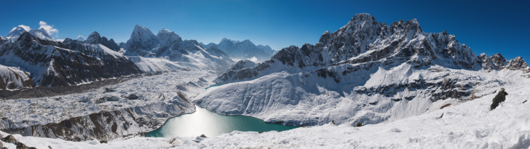 Picture no: 11212094 Panorama vom Gokyo Ri, Himalaya, Nepal  Created by: orxy