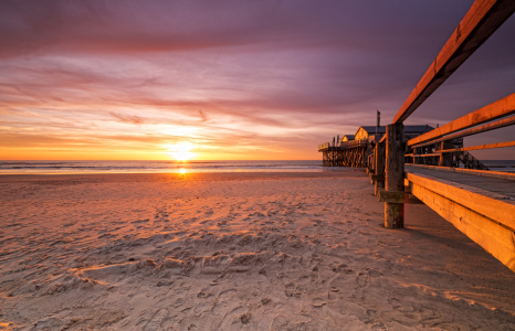 Picture no: 11224664 St.Peter-Ording im Sonnenuntergang Created by: Nordbilder
