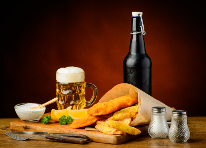 Picture no: 11234580 Bier, Fisch und Chips Created by: Christian Draghici