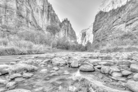 Picture no: 11247822 Zion NP B&W Created by: TomKli