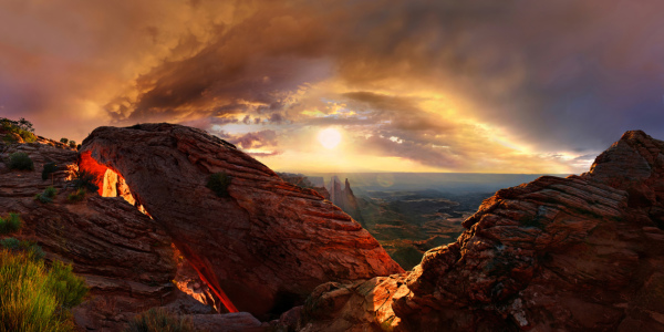 Picture no: 11262570 Mesa Arch Created by: Michael Rucker