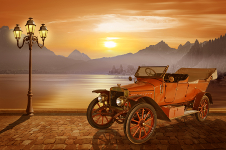 Picture no: 11292288 Oldtimer am See Created by: Mausopardia