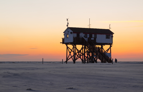 Picture no: 11312400 Abendstimmung in St. Peter Ording Created by: Fotofilter