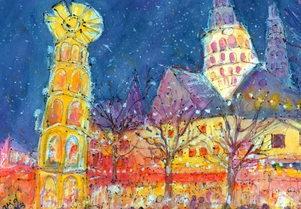 Picture no: 11324832 Weihnachtsmarkt in Mainz Created by: Ingrid Becker