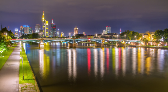 Picture no: 11340051 Skyline Frankfurt IV Created by: PhotoArt-Hartmann