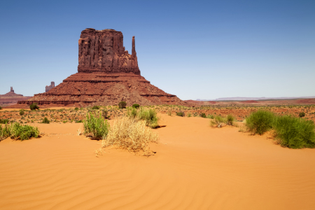 Picture no: 11343422 MONUMENT VALLEY West Mitten Butte Created by: Melanie Viola