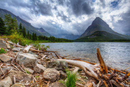 Picture no: 11352176 Swiftcurrent Lake - Glacier NP USA Created by: TomKli