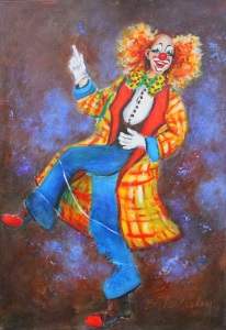 Picture no: 11356004 Clown Jonas2 Created by: Barbara  Tolnay