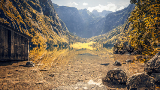 Picture no: 11365892 Herbstlicher Obersee Created by: magann