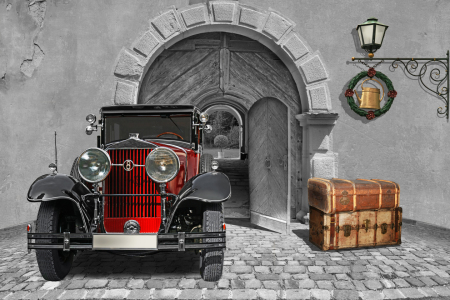 Picture no: 11369201 Oldtimer auf Reisen mit Colorkey 1 Created by: Mausopardia