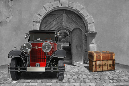 Picture no: 11370963 Oldtimer auf Reisen mit Colorkey 2 Created by: Mausopardia