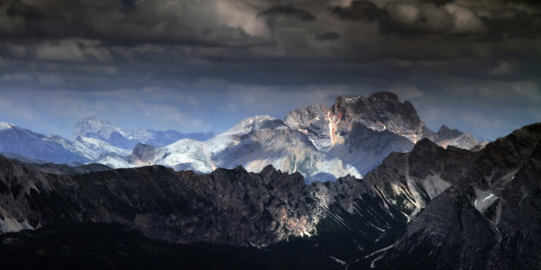 Picture no: 11376337 Dolomiten Gewitter  Created by: Gerhard Albicker