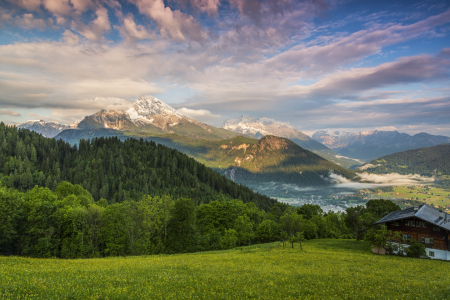 Picture no: 11378691 Blick ins Berchtesgadener Land Created by: Daniela Beyer
