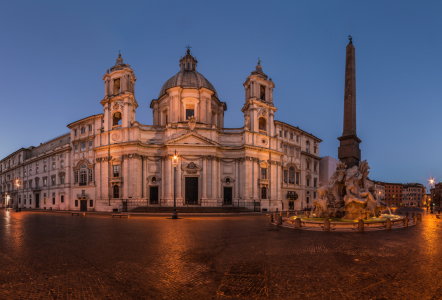 Picture no: 11389641 Rom - Piazza Navona am Morgen Created by: Jean Claude Castor