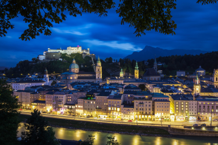 Picture no: 11401359 Salzburg bei Nacht Created by: Fototuning