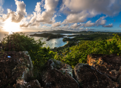 Picture no: 11412870 Antigua - English Harbour Panorama Created by: Jean Claude Castor