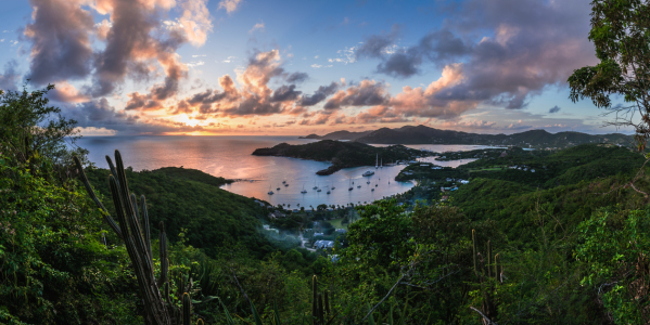 Picture no: 11413540 Antigua - English Harbour Panorama Created by: Jean Claude Castor