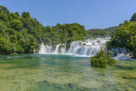 Picture no: 11413799 Krka Nationalpark Kroatien Wasserfall, Krka Park Croatia waterfalls Created by: cibo