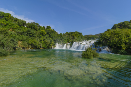 Picture no: 11414336 Krka Nationalpark Kroatien Wasserfall, Krka Park Croatia waterfalls Created by: cibo