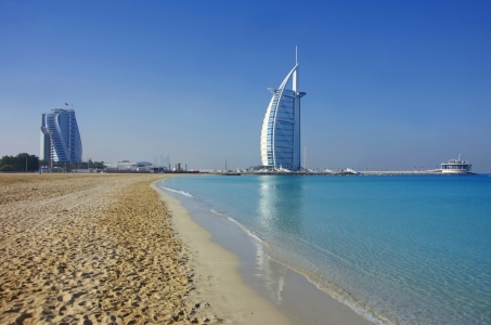 Picture no: 11422651 Burj al Arab mit Strand Created by: Ina  Penning