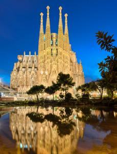 Picture no: 11423984 Sagrada Familia in Barcelona Created by: Mapics