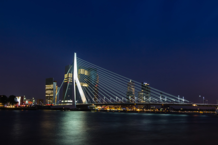 Picture no: 11428740 Erasmusbrücke in Rotterdam Created by: mije-shots