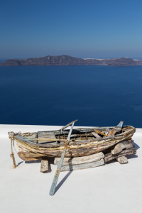 Picture no: 11430380 Altes Boot Santorini Created by: TomKli