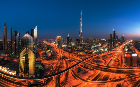 Picture no: 11446217 Dubai - Skyline Panorama Created by: Jean Claude Castor