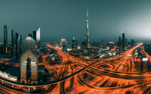 Picture no: 11446221 Dubai - Skyline Colourkey Nr 2 Created by: Jean Claude Castor